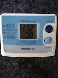 Omron Automatic Blood Pressure Monitor MX3
