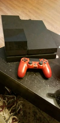 black Sony PS4 console with red controller Gloucester Courthouse, 23061