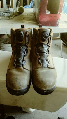 Size 10 Red Wing work boots