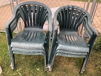 All 6 used lawn chairs Edmonton, T6C 1T3