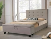 Brand New!Mira Light Gray Queen Storage Bed☆ 39$ Down Payment Odenton, 21113