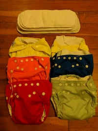 FuzziBunz Cloth Diaper Lot Vancouver, V6G 2C9