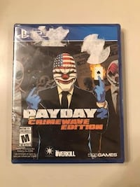 PS4 Payday 2 Brand new game selling ASAP  Vaughan, L4J 4T8