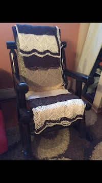 Rocking chair vintage int or ext