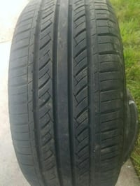 black auto tire with tire Germantown, 20874