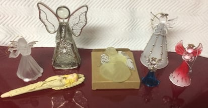 8 Christmas Angels For Sale - Many New