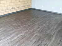 floors are installed