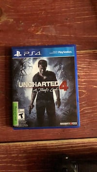 Uncharted 4 PS4 game case Halifax, B3N