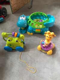 3 infant/ baby toys by fisher price and playskool price for all 3. Brampton, L7A 3X7