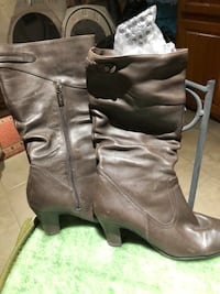 Brown women boots size 7 (winter) Gatineau, J8V 3Y8