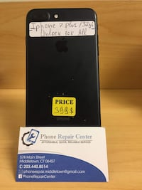 Iphone 7 Plus/ 32 gb/ Unlock for all  Middletown, 06457