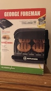 George Foreman Grill and panini maker