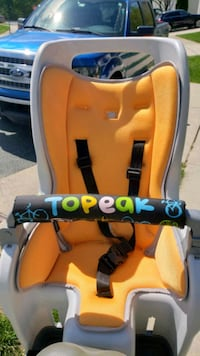 Toddler rear bike seat, Topeak Washington