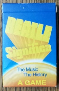 Beatle Significa: The Music & History game  Chicago, 60626