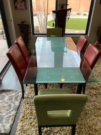 Nice glass table with 6 chairs $900 obo Ivins, 84738