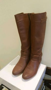 Brown Boots Just Fab size 8 Mississauga