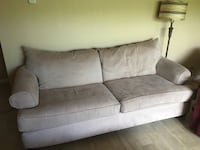 OBO! (Price includes everything) Microfiber sofa and loveseat with wood chest cocktail table and 2 end tables Boynton Beach, 33426