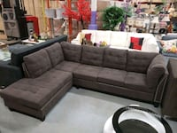 New studded sectional with storage ottoman include Toronto, M9W 1P6