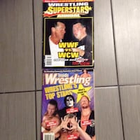 Wrestling Superstars magazines excellent condition for collectors ( over 200) from 1990 to 2006