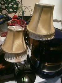two stainless steel base table lamps Newport News, 23605
