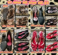 assorted pairs of shoes collage Las Vegas, 89169