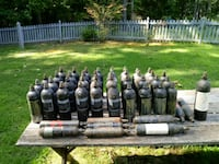 PAINTBALL 48 used CO2 Paintball Cannisters 53 km