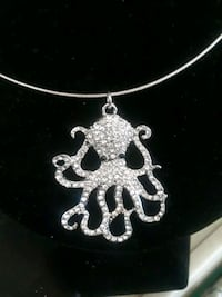 Octopus necklace with bling Indialantic, 32903