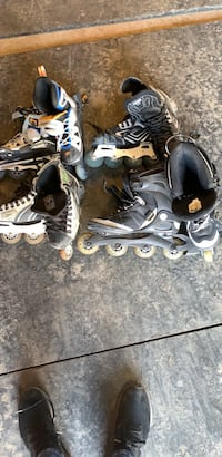 four pairs of rollerblades Catharpin, 20143
