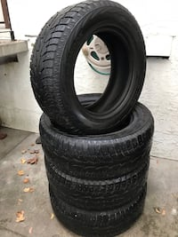 Set of four 265/60/18 Studded Hankook I-Pike Winters Vernon, V1T