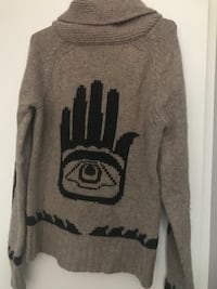Gray and black pink by victoria's secret sweater Burnaby, V3J