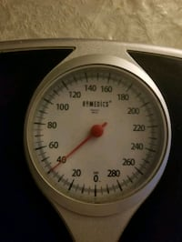 Measuring weight scale