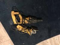 black and yellow Ryobi corded power tool District Heights, 20747