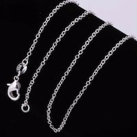 925 Sterling Silver Roll Chain Necklace Corona, 92881