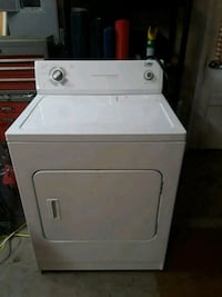 white front-load clothes dryer Dallastown, 17313