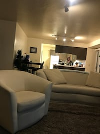 Designer couch And two swivel chairs paid over 3000 very good quality all questions unzip  for cleaning Carlsbad, 92008