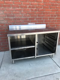 enclosed commercial work table  Anaheim, 92801
