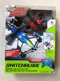 Air Hogs Remote Control Switchblade Ground to Air Racing Helicopter Brand New in Box  Toronto