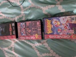 Sega Genesis games with box