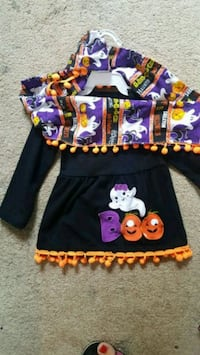 Halloween top& scarf Summerdale, 36580