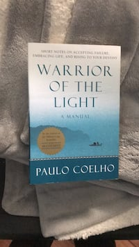Paulo coelho warrior or light book Surrey, V3R 5Y1
