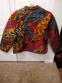 red, black, and yellow floral long sleeve shirt Portage, 49024