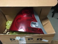 2003 Honda Civic EX Driver side Tail Light Assembly Alexandria, 22314