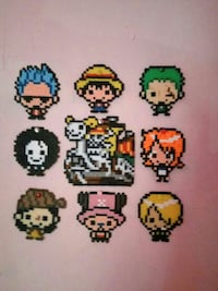 Hama beads One Piece Madrid, 28044