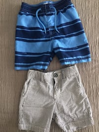 Toddler boy shorts and bathing suit shorts 18-24 months Montréal, H8N