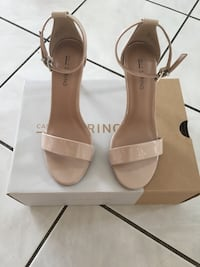Nude Spring heels Size 6.5 Laval, H7W 3V7