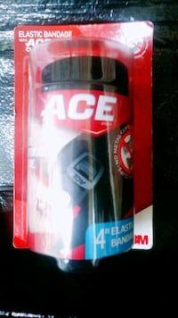 ACE bandage with clip