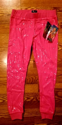 NEW JOJO'S CLOSET PINK SEQUIN GIRLS 14/16 JOGGERS Lexington, 40505
