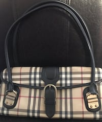 Burberry purse striped collection Montreal