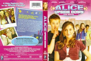 NOW $5***ALICE UPSIDE DOWN DVD with BONUS CD*IF AD'S UP, IT'S STILL AVAILABLE
