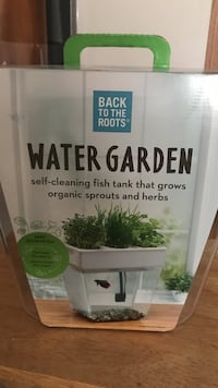 Water garden self-cleaning fish tank box Clinton, 20735